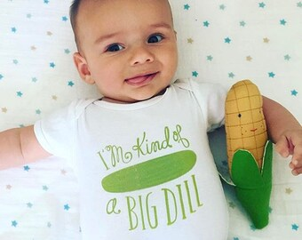 Onesie, Baby Gift, Funny Baby Clothes, Gender Neutral, Pickles