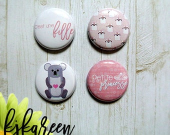 "Badge 1 ""- it's a girl"
