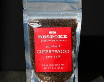 Smoked Cherrywood Sea Salt - pack size