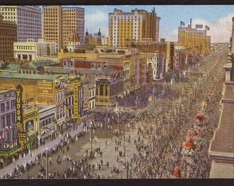 Image result for NEW ORLEANS POSTCARD MARDI GRA