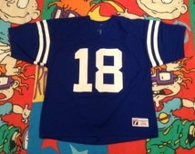 Vintage Indianapolis Colts Peyton Manning Jersey by Logo7