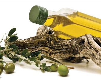 Greek Pure Extra Virgin Olive Oil 100 - 250 ml, For cooking or cosmetic use - November 2015 production, Gift