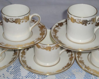 WEDGWOOD WHITEHALL Coffee Cup Set Unrivalled Quality