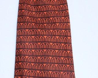 Cravate HERMES   vintage 1970