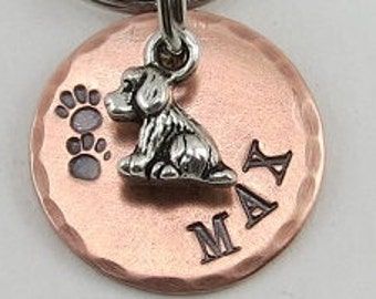 Tiny Dog Tag, Dog Tag, Dog Id Tag, Pet Tags , Pet Id Tags, Dog Name Tags, Dog Collar Tags, Personalized Pet Tags, Personalized Dog Tag