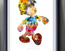 disney home decor paint popular items for pinocchio silhouette on etsy 10710