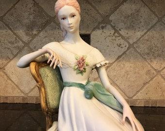 "Rare CYBIS Porcelain Figurine ""SCARLETT"" - Limited Ed 374 of 500"