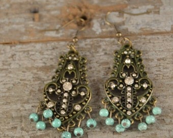 Antique Filigree WithTurquoise