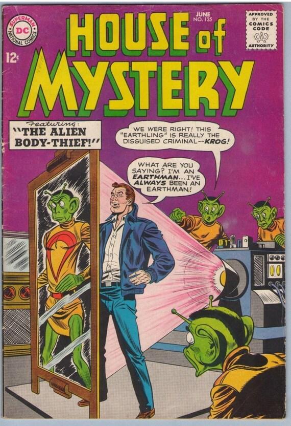 House of Mystery 135 Jun 1963 VG+ (4.5)