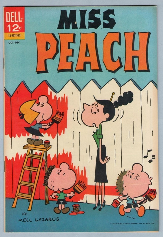 Miss Peach 1 Dec 1963 VF-NM (9.0)
