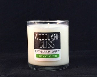 Granny Smith Soy Candle // 8 oz