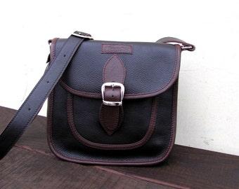 Brown bag Crossbody leather  Messenger bag Purse Gift for her Woman Christmas gifts Crossbody purse Shoulder bag Handmade Handbag