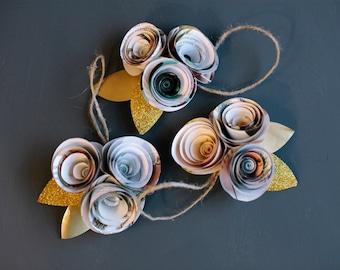 Spiral Ornaments (set of 3)