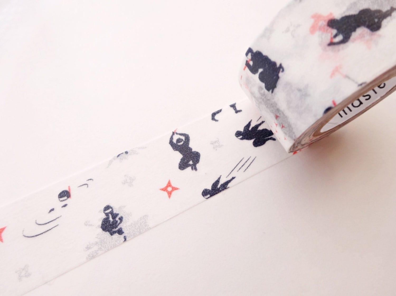 Japanese Baby Gift Ideas : Ninja washi tape baby bog gift idea japanese samurai
