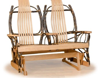 Double rocking chair  Etsy