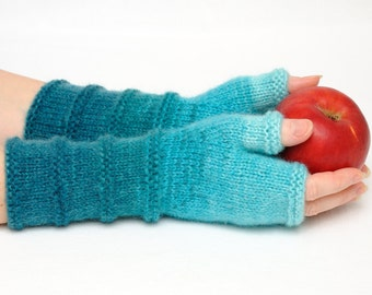 Birthday gift for wife gift unique Fingerless gloves fingerless Mittens Arm Warmers Girlfriend Gift for Her Winter gloves Gift for women