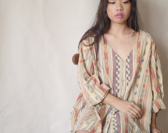 Tribal Print Tunic / Dress