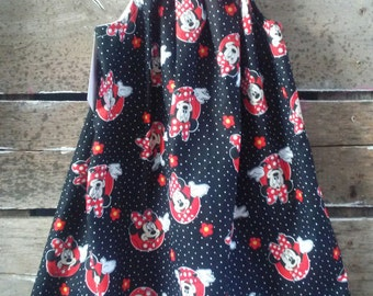 Red & Black Mouse Sundress