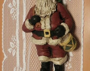 Handmade Vintage Santa Figurine
