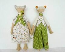 Fabric dolls Ragdoll doll cloth dolls fabric rag dolls ragdolls rag doll toy doll fabric toys stuffed toys kids doll cloth toys frog dolls