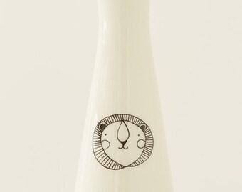 Ceramic Vase - Lion