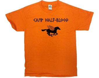 Camp Half-Blood T-Shirt Percy Jackson Shirt Movie T Shirt Greek Demigod Greek Mythology Shirt Long Island Sound Mens Ladies Tee - SA19