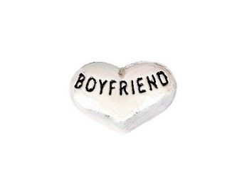 Boyfriend Floating Charm fits All Brands of Lockets