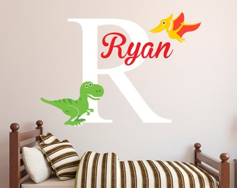 Pterodactyl Decal Etsy - Custom vinyl wall decals dinosaur