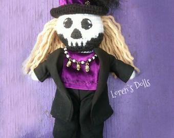 Baron Samedi Crochet VooDoo Doll