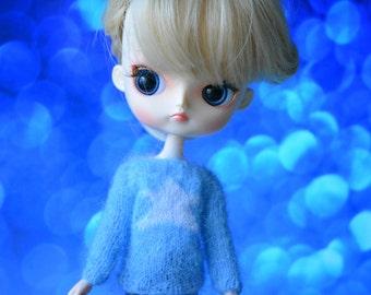 Sweater pullover mohair star Dal Obitsu 23 21 button