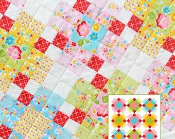 PDF Quilt Pattern - Plaid MINI