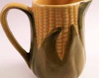 Vintage Shawnee Pottery Corn King Little Pitcher/Creamer 1950s