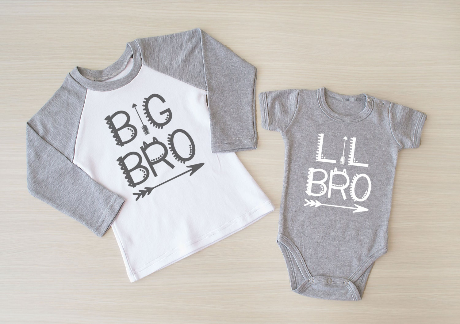 Big Brother Little Brother Matching Shirt. Big Brother Outfit. Big Brother  Raglan Shirt. - Little Brother Etsy
