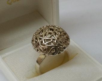 Ring 835 silver rare head SR521
