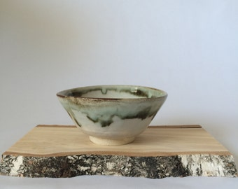 Abstract Glazed Bowl