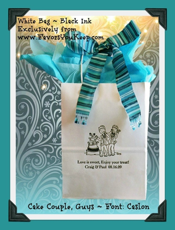 Personalized Wedding Gift Bags For Guests : Wedding Welcome Bags Gay Personalized Wedding Guest Gift Bag LGBT ...