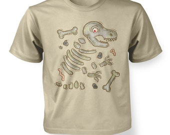 Dinosaur Bones kids t-shirt