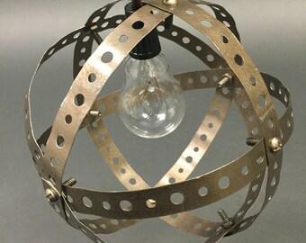Single Metal Sphere Lamp