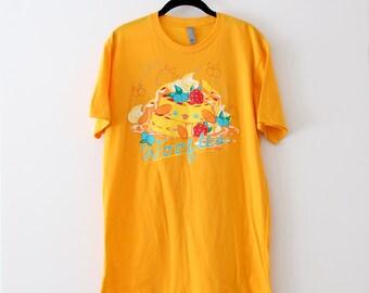 Orange Woofles Tshirt