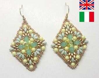 Diy Photo Tutorial Pdf Eng/ENG Bouquet Earrings