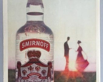 1961 Smirnoff Vodka Print Ad