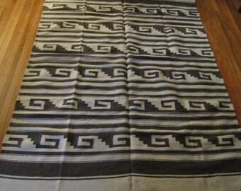 native american vintage wool rug