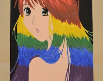 Rainbow Honey: Original Anime Design