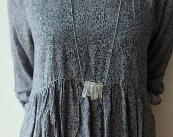 Five Quartz Necklace