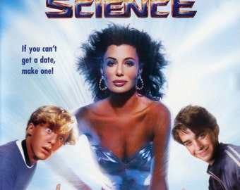 WEIRD SCIENCE Movie POSTER John Hughes 80's