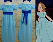Wendy Darling Costume with Hair Bow