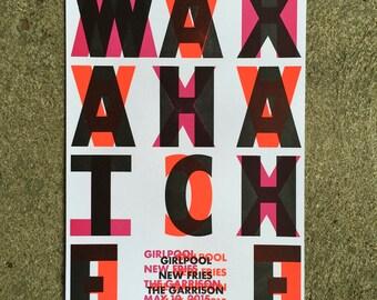 Waxahatchee/Girlpool Gig Poster