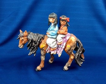 Homeward Bound De Grazia Figurine