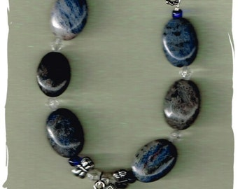 Sodalite and Butterflies