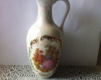 Limoges Porcelain Jug Pitcher ( Ref No. A2 )
